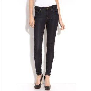 Hudson Nico Mid Rise Super Skinny Jean size 25